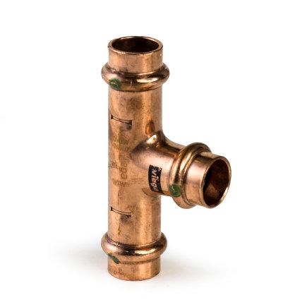 Viega Profipress T-stuk met SC-Contur, type 2418, 22 mm  default 435x435