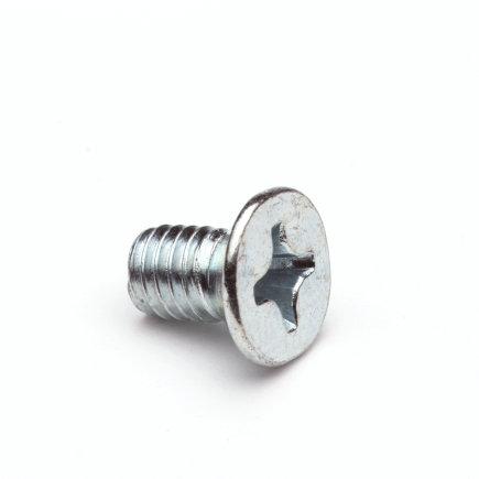Metaalschroef, gegalvaniseerd, voor gootbeugel met tapgat, M6 x 10 mm  default 435x435