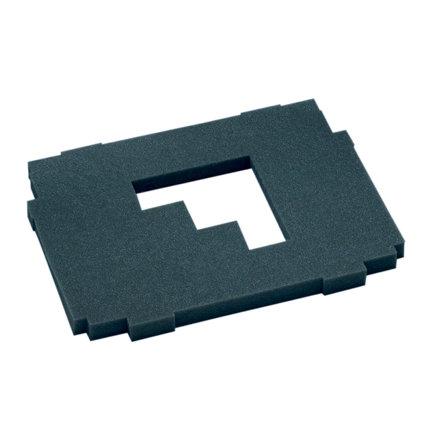 Hitachi/HiKOKI schuimrubber bescherming, t.b.v. opbergkoffer HSC, type I - IV, zacht, 25 mm
