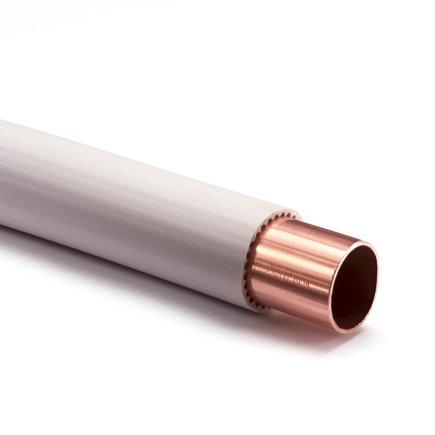 Wicu roodkoperen buis voorzien van pe mantel, 12 mm, Kiwa/Gastec QA, l = 25 m