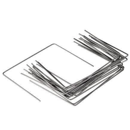 Gronddoekpennen, metaal, 200 x 250 x 4 mm, set à 20 stuks