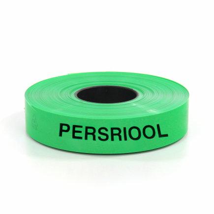 Polyetheen waarschuwingsband, riool/groen, rol à 250 m  default 435x435