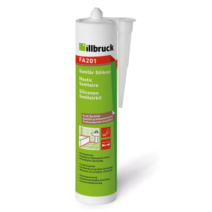 Illbruck bouw- en sanitairkit, transparant, type FA201, 310 ml  default 435x435