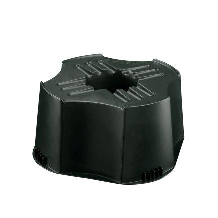 BeGreen mini regentonstandaard, pe, zwart, voor BeGreen mini regenton