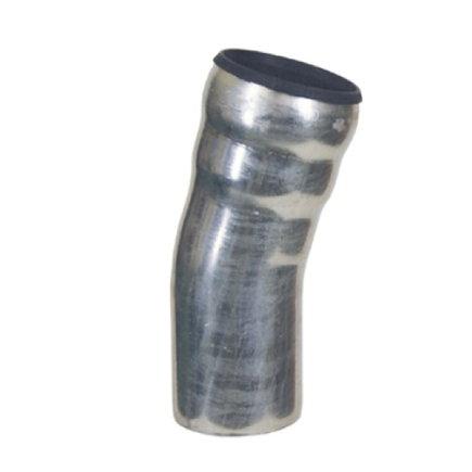 Loro-X bocht 15°, thermisch verzinkt staal, 100 mm