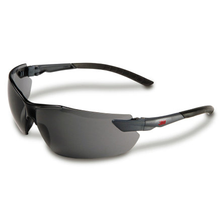 3M Classic veiligheidsbril, serie 2820, type 2821, grijs polycarbonaat lens  default 435x435