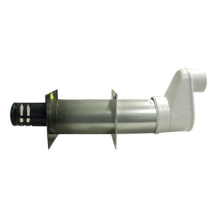 Muurdoorvoer, concentrisch, CT 100/150, t.b.v. luchtverwarmer Winterwarm XR 40 - XR 60