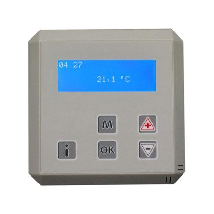Multitherm klokthermostaat voor luchtverwarmer, t.b.v. type XR10 - 60, TR60 - 150 en ACR  default 435x435