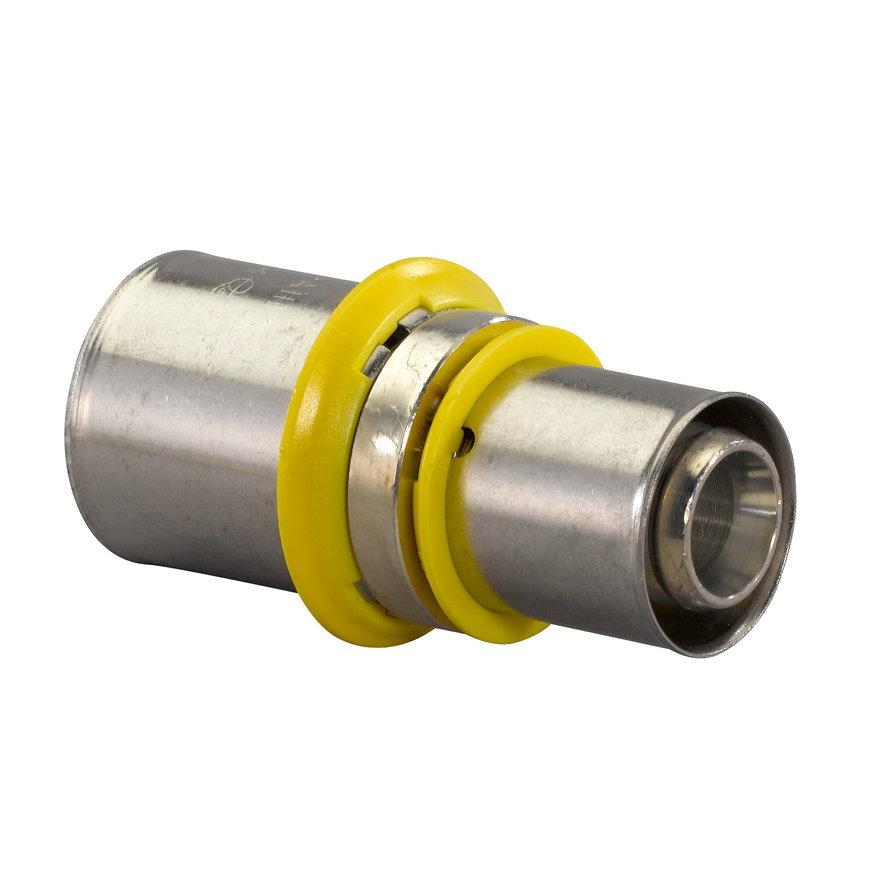 Uponor MLC-G gas perskoppeling verlopend, 25 x 20 mm  default 870x870