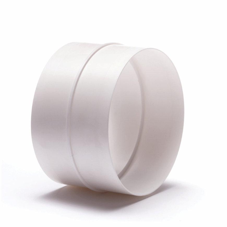 Plieger pvc buisverbinder incl. terugslagklep t.b.v. keukenventilatie, Ø 100 mm  default 870x870