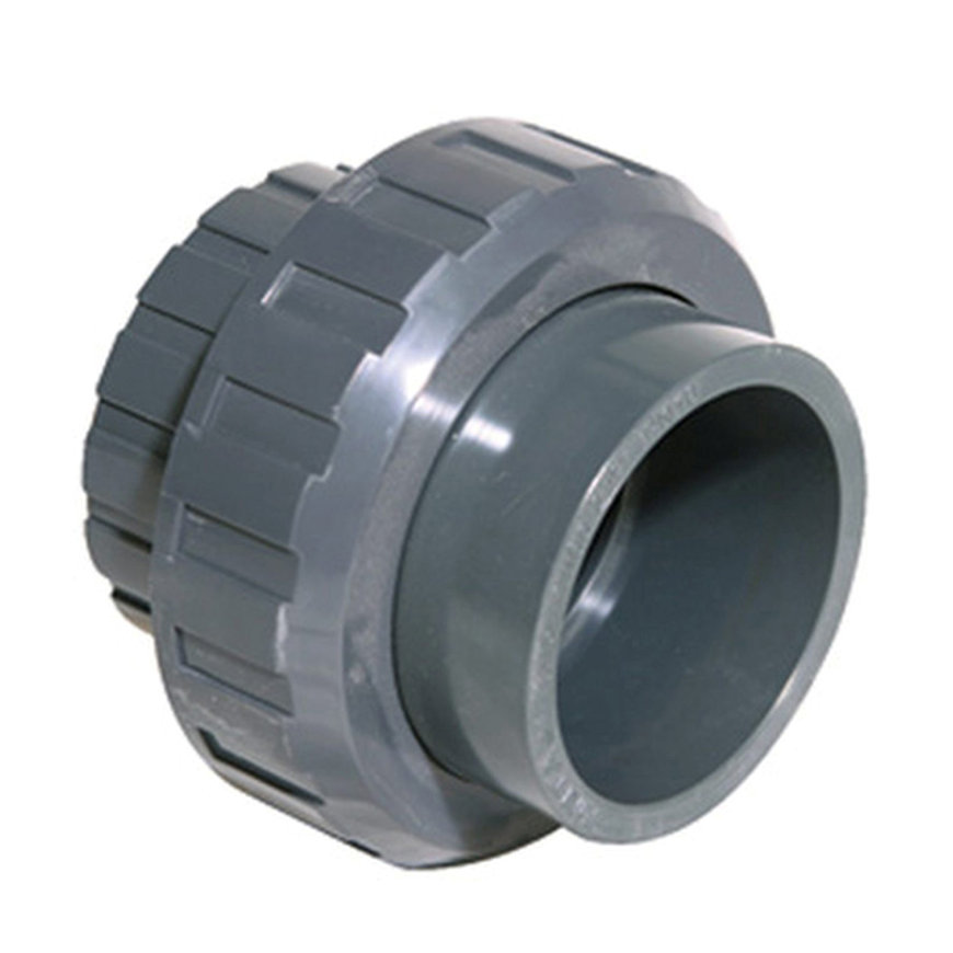 Pimtas 3-teilige Kupplung, PVC, 2x Innenverklebung, EPDM, 16bar, 40 mm