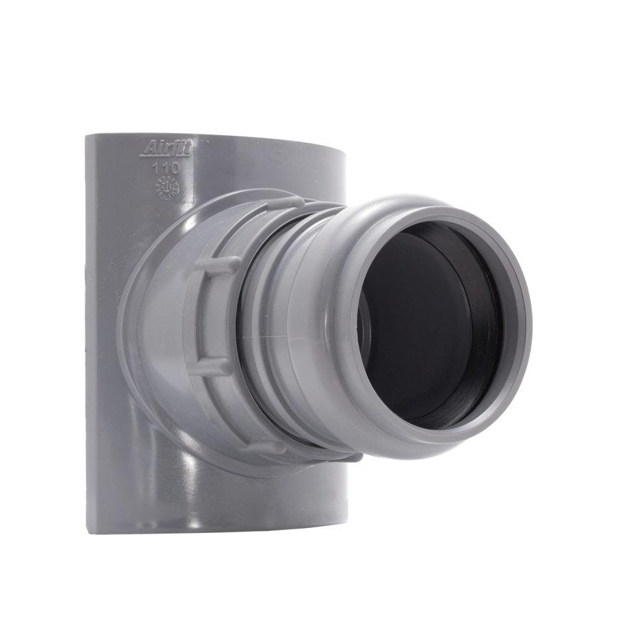 Airfit pp schroefaftakking, klem x manchet, grijs, 90 x 50 mm  default 870x870