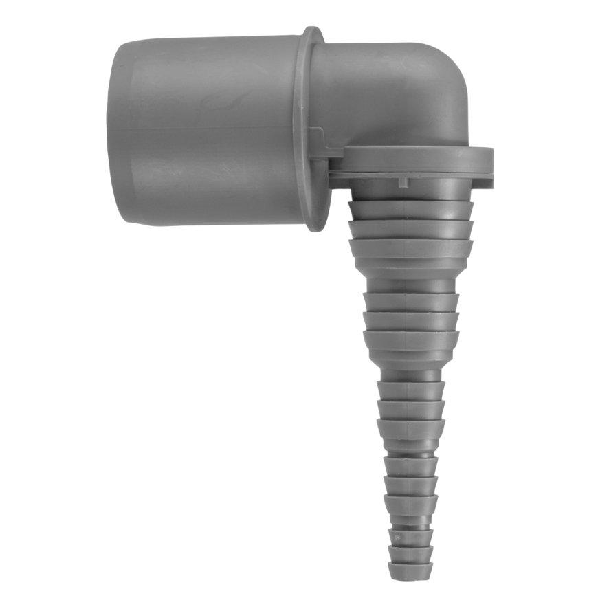 Airfit pp overgang buis x slangtule, 90°, grijs, 40 x 25-8 mm slangtule  default 870x870