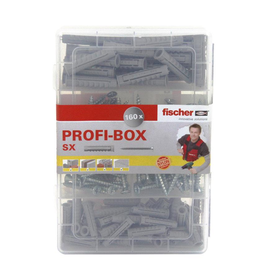 Fischer pluggen profi-box NV, type SX, met schroeven