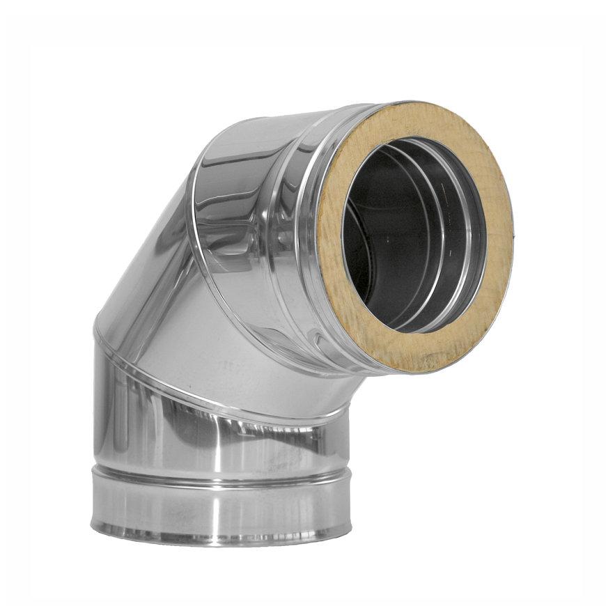 Dinak DW, rookgasafvoerbocht 90°, type 433, 80 mm  default 870x870