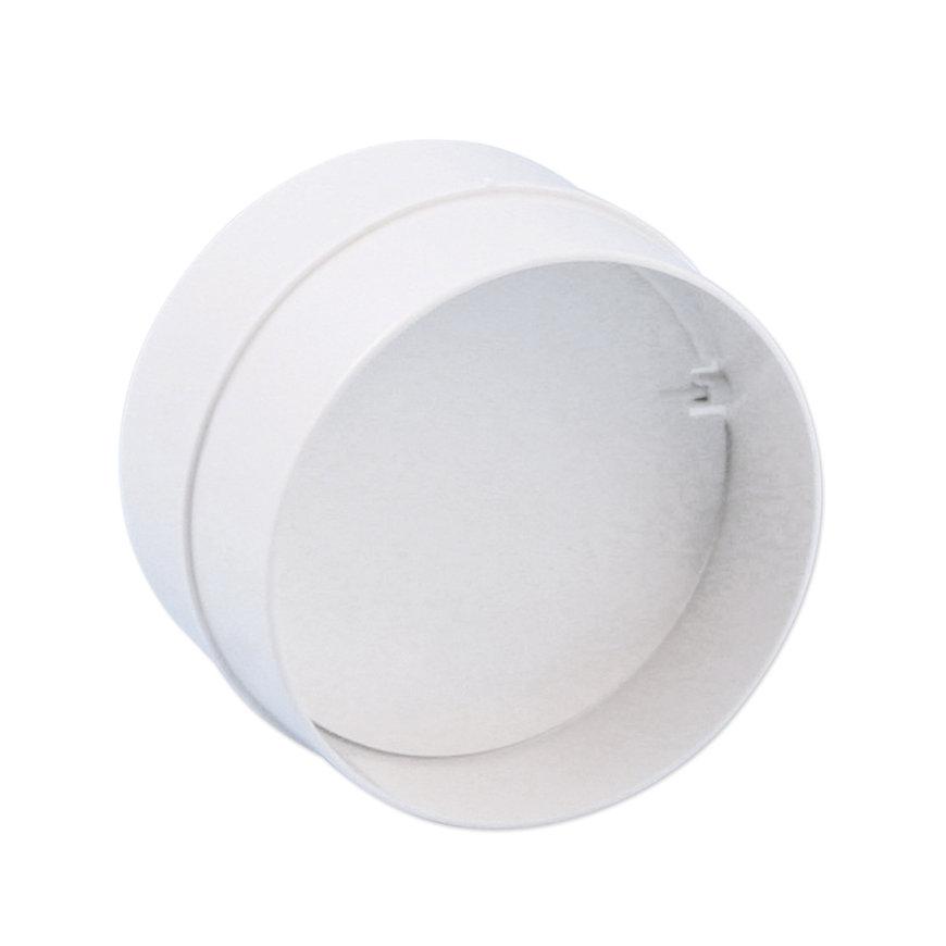 Nedco pvc buisverbinder incl. terugslagklep t.b.v. keukenventilatie, Ø 100 mm  default 870x870