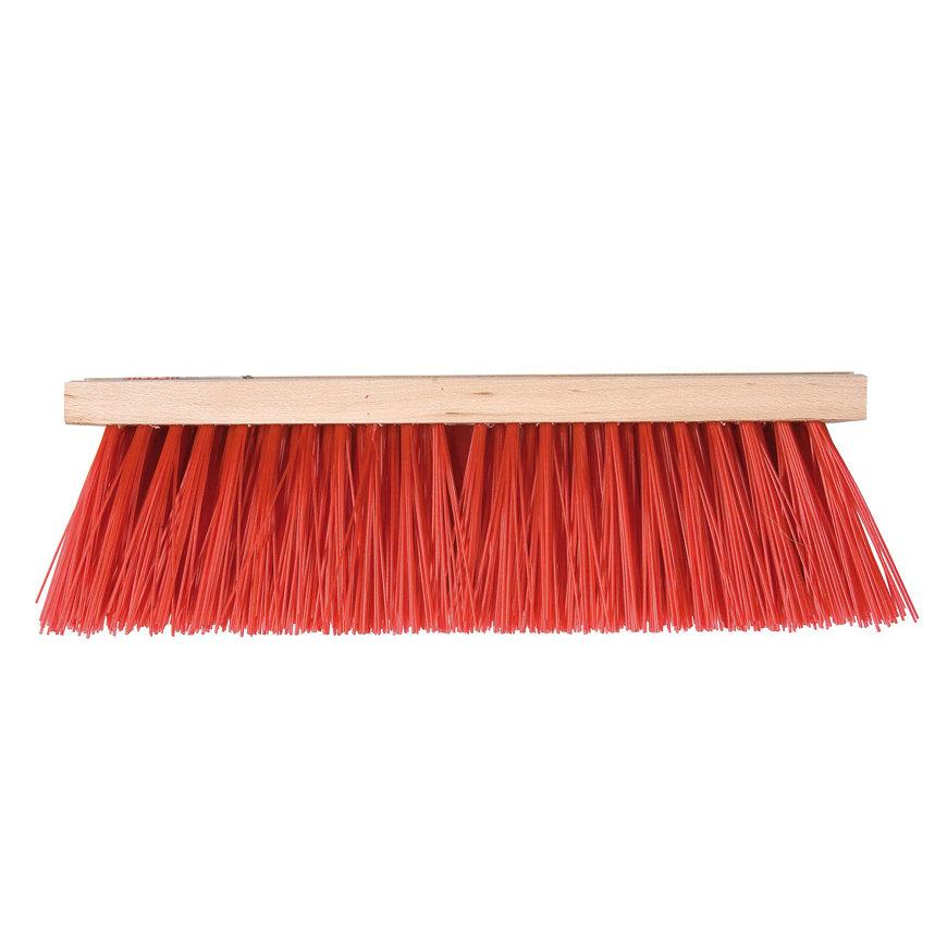 Talen Tools straatbezem, nylon haren, 41 cm, excl steel