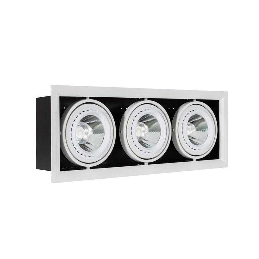 Adurolight® Premium Quality Line led inbouwspot, AR111, Jesse, 30 W, 3000 K