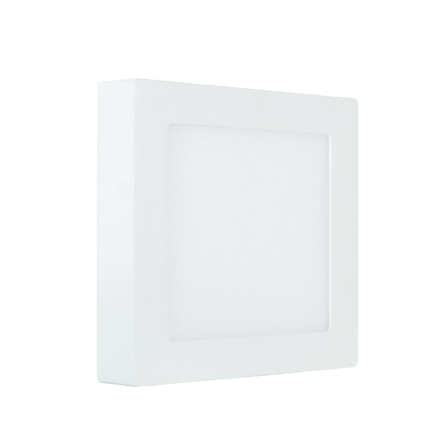 Adurolight® Premium Quality Line led plafond lamp, Rudolf 300, vierkant, 24 W, 4000 K  default 870x870