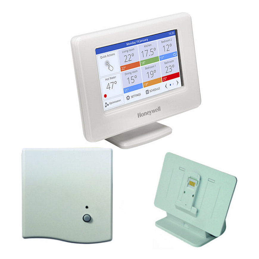 Honeywell Evohome single zone systeem, OpenTherm ketelsturing, type ATP951M3118  default 870x870