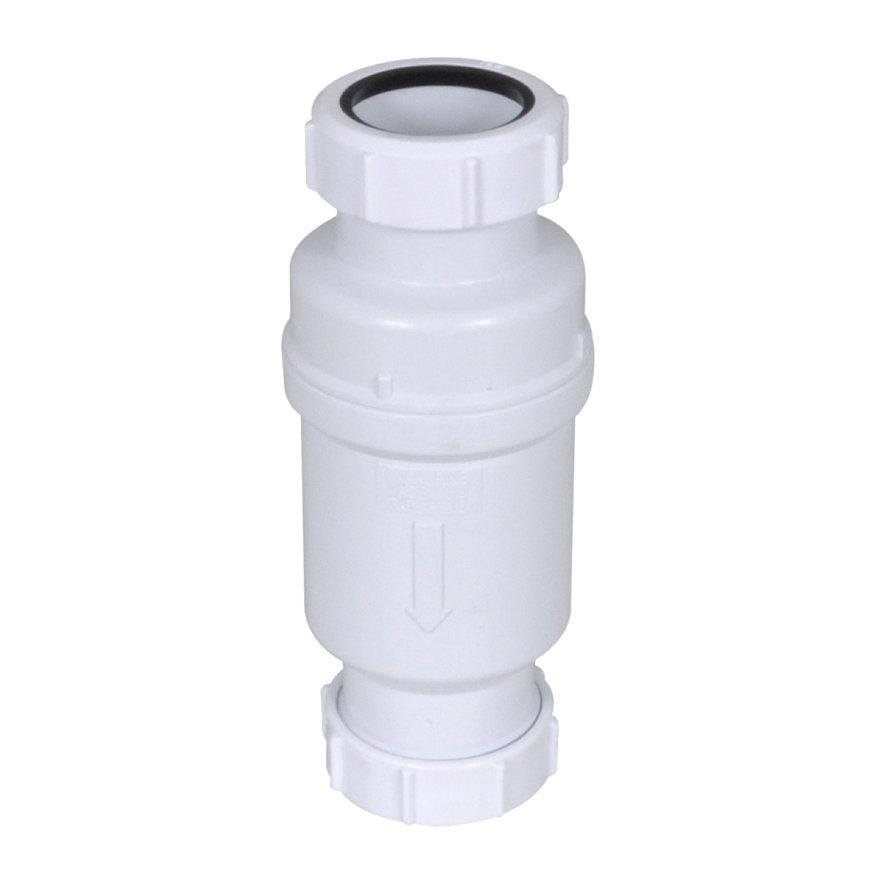 McAlpine Macvalve-6 waterslotloos sifon, 2x 32 mm klem