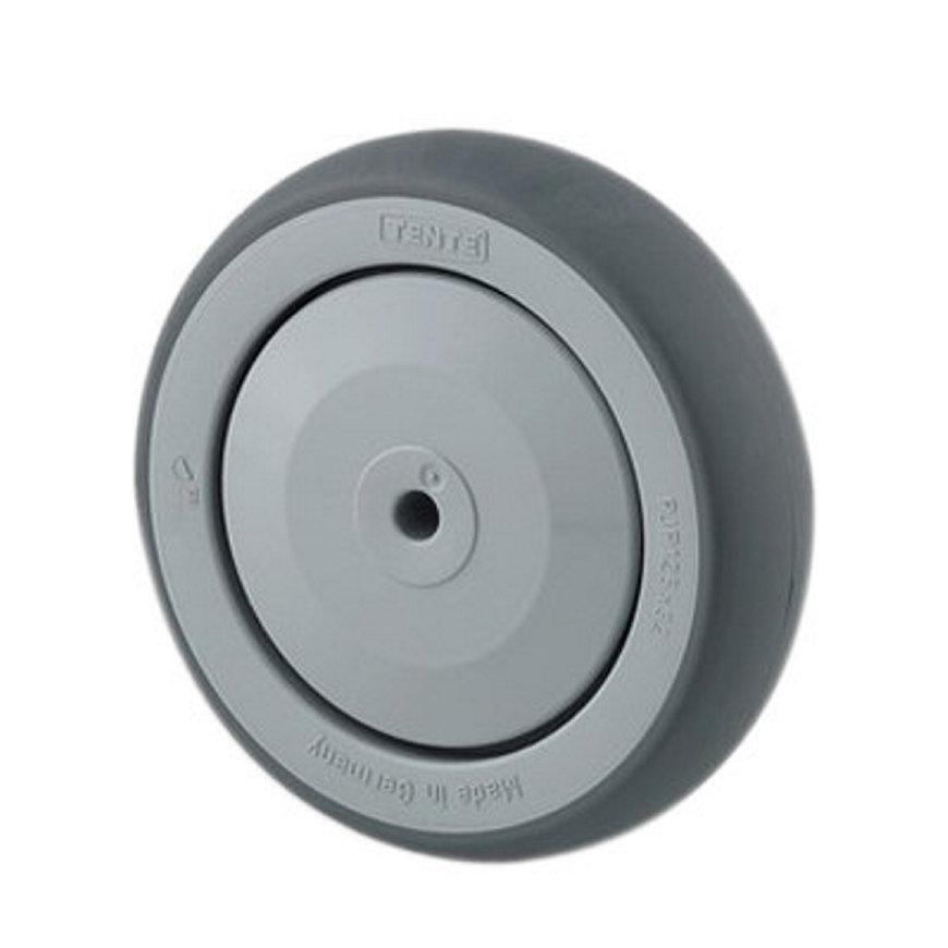 TENTE wiel, thermoplastisch rubber, 125 mm