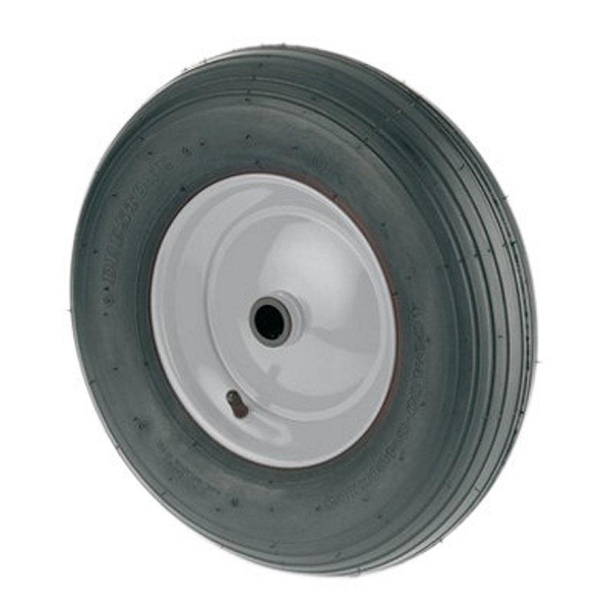 TENTE luchtband met lijnprofiel, wielkern: geperst staalplaat, 200 mm, zwart  default 870x870