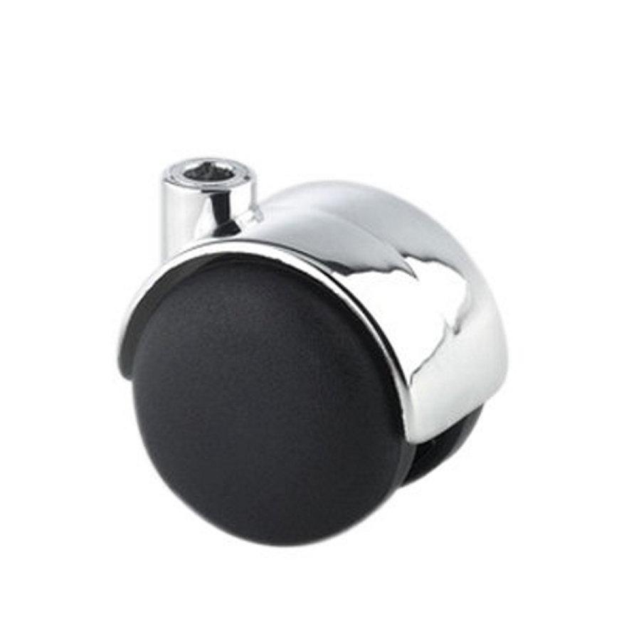 TENTE zwenkwiel, polypropyleen, meubelwielbevestiging, 50 mm, chroom  default 870x870