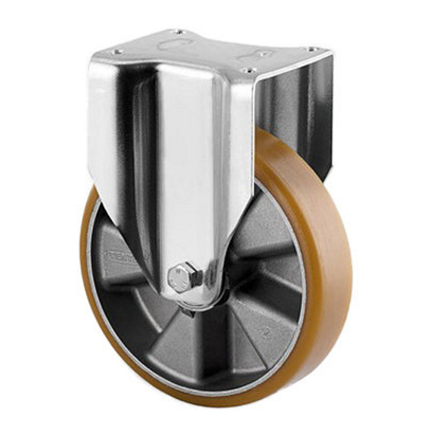 TENTE bokwiel, polyurethaan, plaatbevestiging, 125 mm  default 870x870