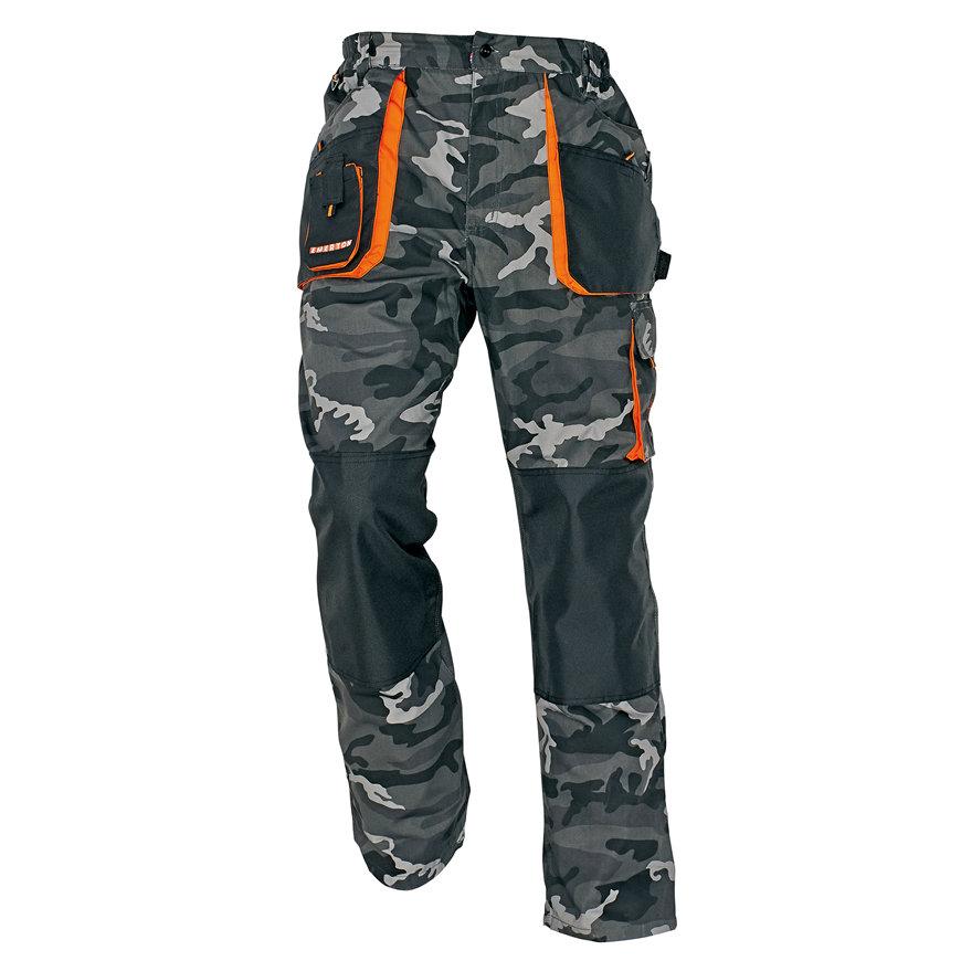 Cerva Emerton werkbroek, camouflage grijs, maat 60  default 870x870