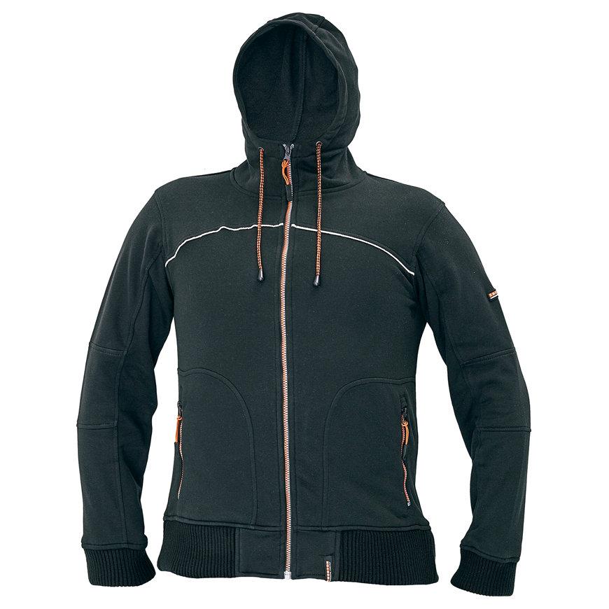 Cerva Emerton sweatvest, zwart, maat L  default 870x870