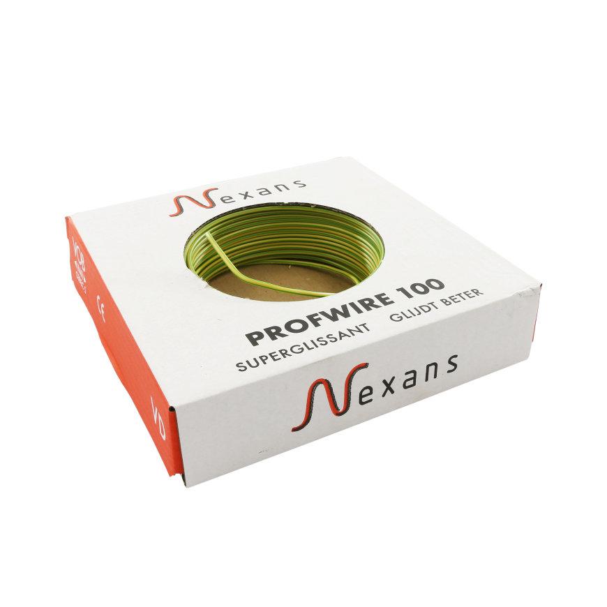Nexans PROFWIRE VD installatiedraad, geel/groen, H07V-U Eca, 2,5 mm², doos à 100 m  default 870x870
