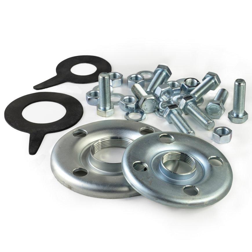 Ebara flenzenset, incl. bouten, moeren en epdm pakkingen, serie 3D/MD/MMD, 65 x 80  default 870x870