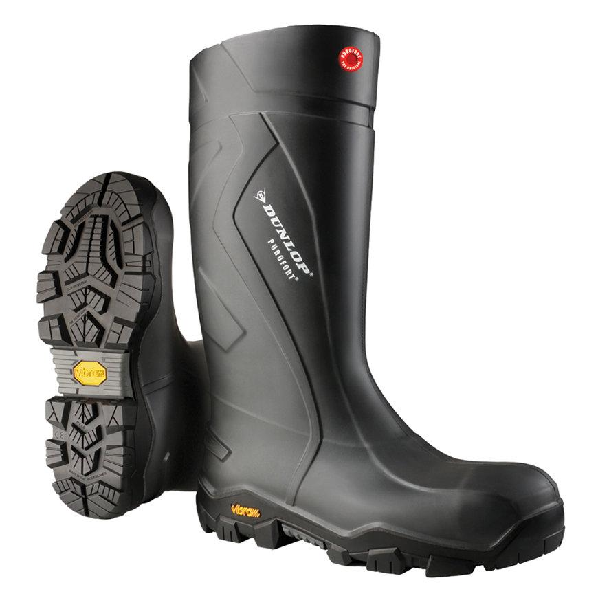 Dunlop laarzen, type Purofort+ Expander, hoog model, full safety, S5, Vibram zool, maat 43  default 870x870