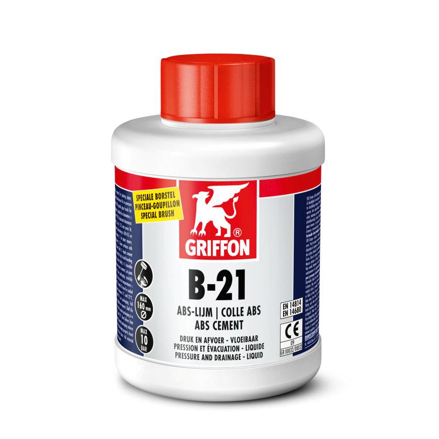 Griffon abs lijm, B-21, flacon à 500 ml met kwast