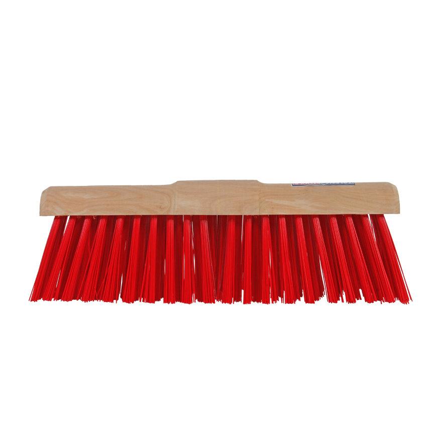 Talen Tools stadsbezem, ronde kap, nylon haren, 45 cm, excl steel