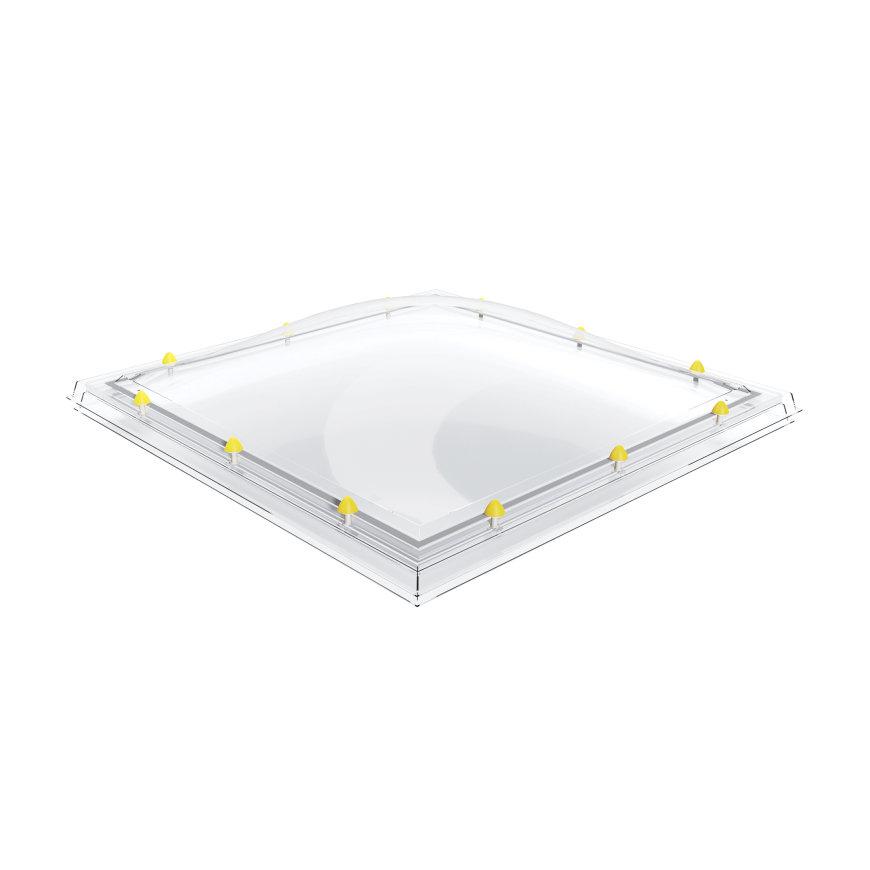 Skylux polycarbonaat- / acrylaat lichtkoepel, 2-wandig, helder, 160 x 220 cm  default 870x870