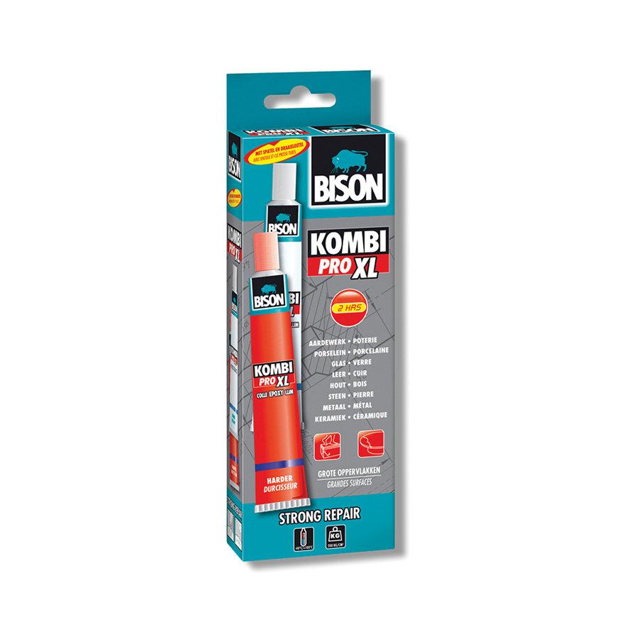Bison 2-componenten epoxylijm, Kombi Pro XL, vouwdoos 2 x 100 ml  default 870x870