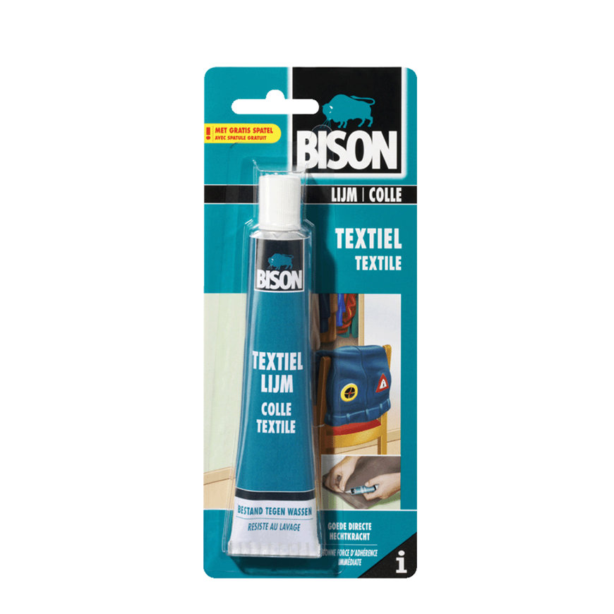 Bison textiellijm, blister à 50 ml