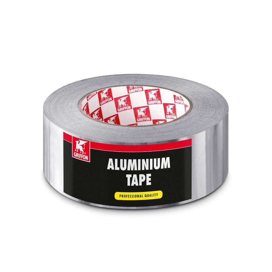 Griffon aluminium tape, b = 50 mm, rol à 20 m