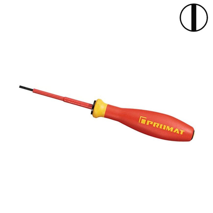 Promat sleufschroevendraaier, VDE geïsoleerd, sleuf 8 mm, l = 300 mm, lemmetlengte 175 mm