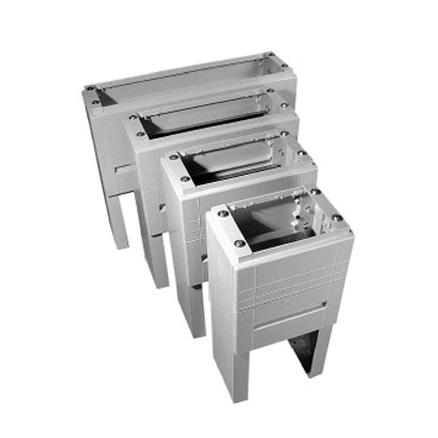Geyer ingraafsokkel, t.b.v. polyesteren kast, lichtgrijs, GR0, 950 x 590 x 310 mm  default 870x870
