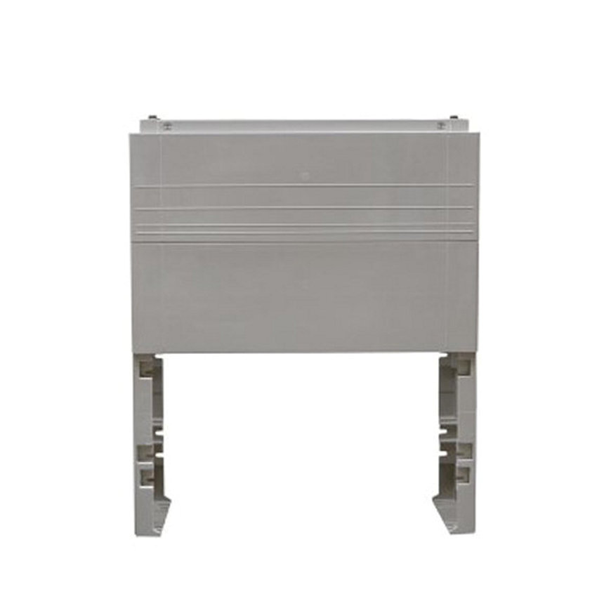 Geyer ingraafsokkel, t.b.v. polyesteren kast, lichtgrijs, GR1, 950 x 785 x 459 mm  default 870x870