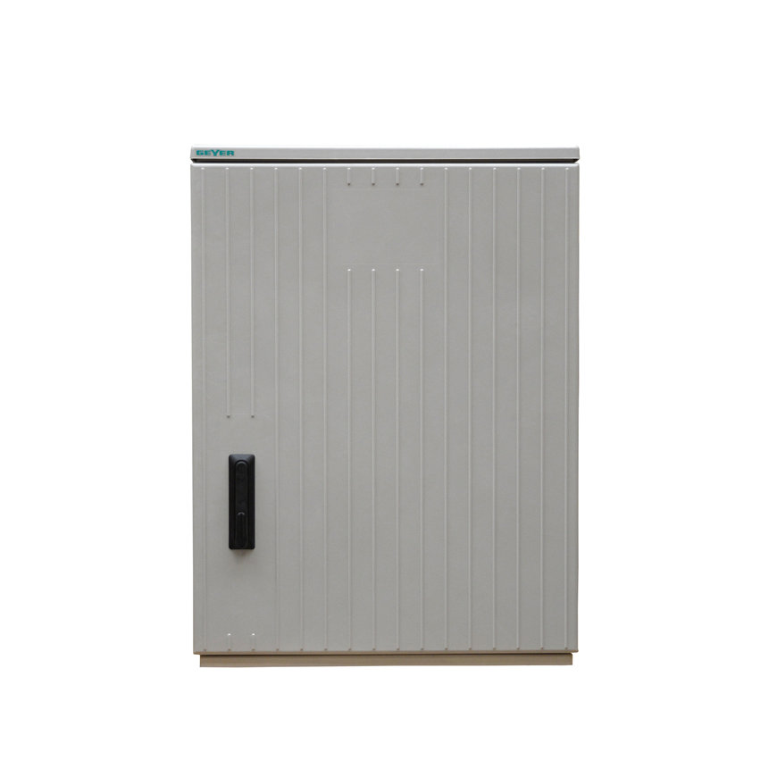 Geyer kast, polyester, lichtgrijs, IP44, GR1/1065, 1065 x 785 x 320 mm, inclusief montageplaat  default 870x870