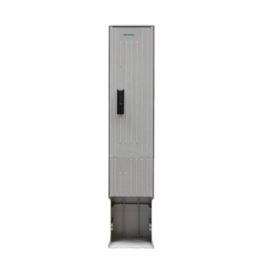 Geyer kast, polyester, lichtgrijs, IP44, 1710 x 350 x 277 mm, inclusief montageplaat  default 870x870