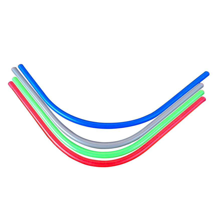 Pvc invoerbochten 90°, 1200 mm, set à 3x 50 mm, 1x 50 mm
