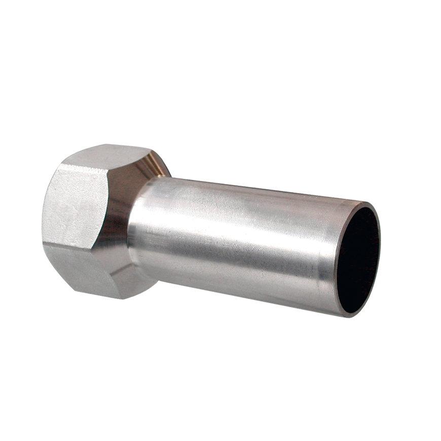 """Bonfix PRESS draadkoppeling, rvs, binnendraad x steek, ¾"""" x 22 mm, Kiwa"""