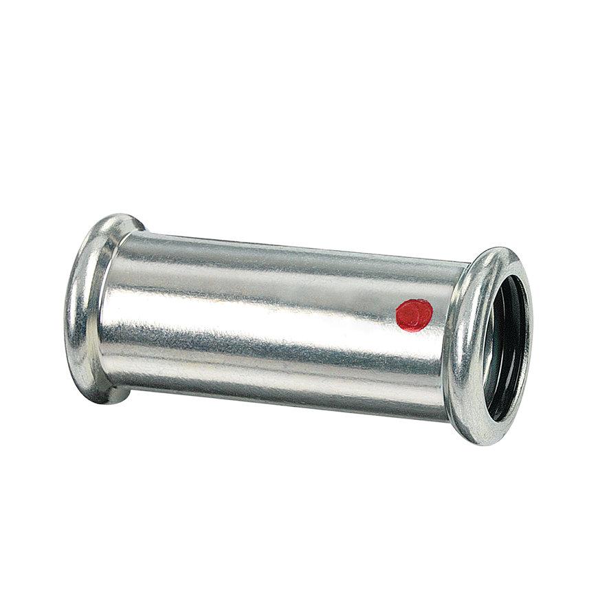 Bonfix PRESS overschuifkoppeling, staalverzinkt, 2x pers, 28 x 28 mm  default 870x870