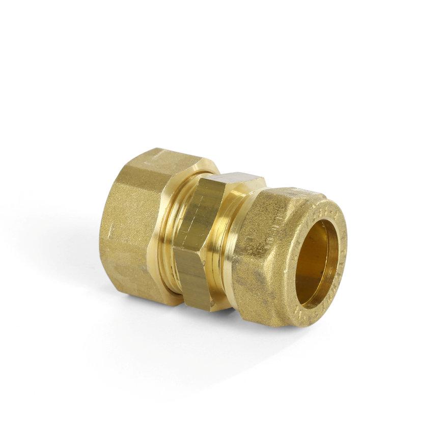 Solarflex koppeling, Easy-Drill, wartel x klem, DN20 x 18 mm