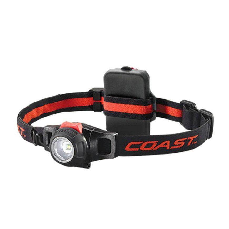 Coast LED hoofdlamp, oplaadbare 3x NiMH, 240 Lumen, blister à 1 stuks